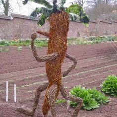 Giant walking Carrot