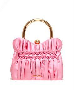 928f12db7dd Miu Miu Spring 2012 Accessories   Tom  amp  Lorenzo Miu Miu Handbags, Pink  Handbags