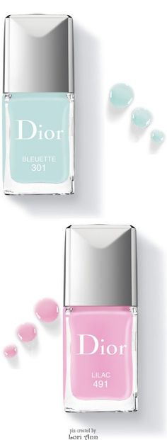 Dior Vernis Limited Edition Spring 2016 in Bluette & Lilac