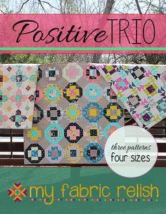 Positive Trio Pattern  via Craftsy