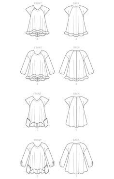 B6215 | Misses' Top | New Sewing Patterns | Butterick Patterns