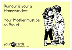 Rumour is your a Homewrecker Your Mother must be so Proud.she didn't teach you not to sleep with married men MANdy Dennis Smith of Buchanan Va? Karma Quotes, True Quotes, Quotes To Live By, Funny Quotes, Skank Quotes, Mistress Quotes Karma, Quotes Quotes, Home Wrecker Quotes, Under Your Spell