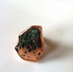 AMAZING copper ring <3