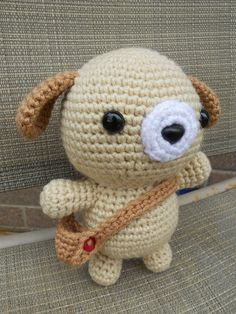 Amigurumi-- oh man that satchel is adorable!