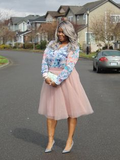 Beautifulblacks Ig Silverspoonsandtutus Flowery Shirt Target Tulle Skirt Windsor Shoes Macy S Marc Fisher Clutch Kate Spade