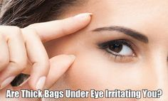 Simplest remedies for eliminating the eye bangs