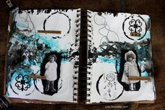 Art journal - Go with all your heart