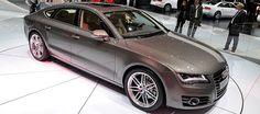 New Audi A7 Sportback from 2012 Paris Auto Show via Mondial Automobile