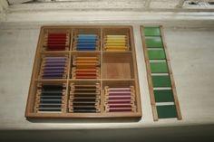 Presenting Montessori color tablets Montessori Color, Primary Colors, Preschool, Presents, Colours, Home Decor, Gifts, Decoration Home, Room Decor