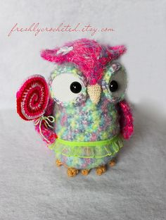 owl with lolly pop | Flickr - Photo Sharing!