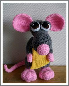 Mouse, pattern Delicious Crochet