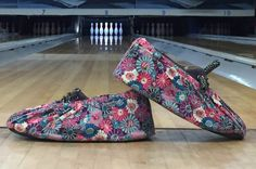 Custom Bowling Shoe Covers by SewManyStitchesVT on Etsy