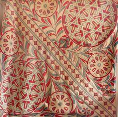 A cotton Applique panel Egyptian , 1890's or earlier  Measurement: 6ft square or 1metre 84 cm's - Esther Fitzgerald Rare Textiles