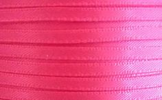 1/8 Shocking Pink Satin Double Face Ribbon Bow 20 Yards Good Crafted DIY Ideas ** Click on the image for additional details.