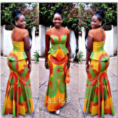 Nigerian fashion has grown overtime and the growth is in no way slowing down and new fashion trends keep coming out as often as you can imagine. One clothing material that stands in designing these entire fashion outfits.....Is literally the Ankara Fabric....Unbeatable! The Ankara fabric is one...