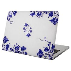 Macbook Retina 13 case Mosiso Blue and White Porcelain 13-Inch Rubberized Coating Clear Hard Case Cover for Apple MacBook Pro 13.3 with Retina Display A1502 / A1425 (NEWEST VERSION NO CD-ROM Drive) (Blue and White Porcelain) #ipadpro
