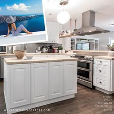 Some people say we all start out as a blank linen canvas and that we can make whatever we want out of our lives. Linen Cabinet, Cabinet Doors, Kitchen Cabinet Manufacturers, White Kitchen Cabinets, Color Stories, Painting Cabinets, Contemporary, Modern, Living Spaces