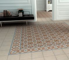 Kitchen tiles in every style for walls and floors. From modern to vintage, glossy to ceramic, country kitchen tiles to modern porcelain, find whatever your kitchen needs to be transformed. Country Kitchen Tiles, Kitchen Wall Tiles, Kitchen Floor, Floor Patterns, Tile Patterns, Foyer Flooring, Tiles Uk, Victorian Tiles, Vintage Tile