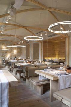 La Bien Aparecida | Madrid - Barrio Salamanca | by Tarruella Trenchs #restaurant #holy #wood