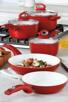 Bialetti Aeternum 8 pc Cookware Set