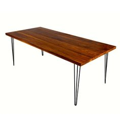Ansley Dining Table Large Walnut now featured on Fab.