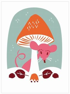 Ivana the #mouse by #Darling #Clementine,  kidsdinge.com