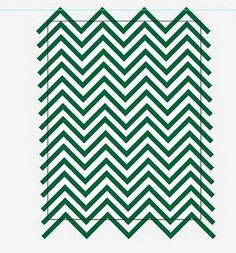Chevrons Are for More Than Letterman's Jackets :  wedding diy save the dates stationery Chevron07 chevron07