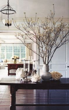 love Maegan: Bringing the Outdoors In: Decorating with Branches ...