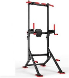 Top 10 Best Pull-up Bar Stands in 2020 - SpaceMazing Pull Up Bar Stand, Best Pull Up Bar, Best Christmas Tree Stand, Cool Christmas Trees, Home Gym Basement, Dip Station, Dip Bar, Power Tower, Rubber Mat