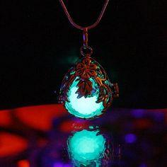 3 pendants in one - Locket  GLOW in the DARK