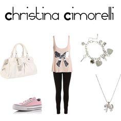 """""""Christina Cimorelli"""" by ashleysapuppo on Polyvore"""