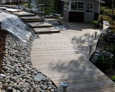 Patio and slope , Finland