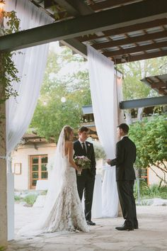 Elegant Outdoor Texas Wedding from Day 7 Photography - wedding ceremony idea