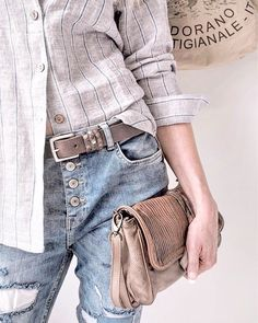 Bypias linen Shirt and jeans www.bypias.com