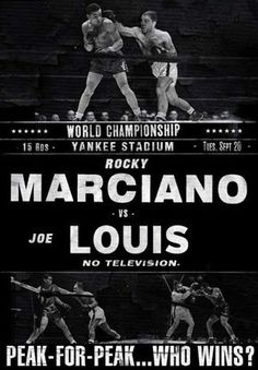 Joe Louis: A Peak-for-Peak Analysis - The Sweet Science Boxing Fight, Boxing Gym, Mma Boxing, Boxing Club, Boxe Fitness, Professional Boxing, Boxing Posters, Boxing History, Gyms Near Me