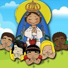 Nossa Senhora Aparecida rogai por todos os seus filhos,continue nos protegendo e nos amando.