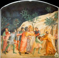 FRA ANGELICO. Prendimiento. 1450. San Marcos de Florencia.