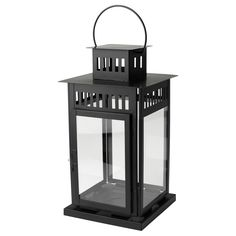 For half of the reception tables? with flowers around it? BORRBY Lantern for block candle - IKEA