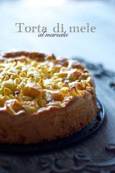 Torta di mele al marsala http://lapanciadellupo.blogspot.it/2014/11/torta-di-mele-al-marsala.html