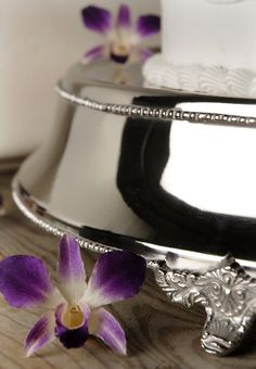 Cake Stands Silver Plated Wedding 19.5  Cake Plateau   $69 (18 top)