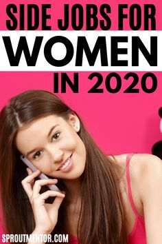 Even women can make money online in 2020. Here are the best online jobs used by work at home moms, stay at home housewives and anybody looking for work from home jobs to make extra cash. I make more than $3000 per month with number one. Visit this post to discover how I do it and how you can do it too. #women #woman #sidejobsforwomen #makemoneyonline #onlinejobs #workfromhomejobs #jobs #money #sidehustleideas #finance