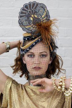 Gatsby headwear available at www.saratiara.com