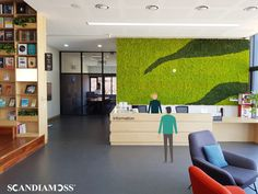 Moss Wall, Finishing Materials, Blue Forest, Interior Accessories, Eco Friendly, Management, Construction, Space, Furniture