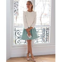 Image Veste petit volume, manches 3/4 MADEMOISELLE R Mademoiselle R, Ema, Modern Princess, Dress Me Up, Lace Skirt, Collection, Womens Fashion, Skirts, How To Make