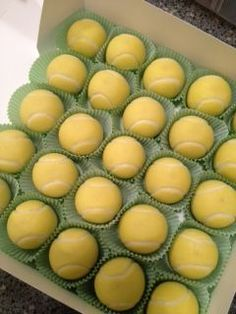 Just Pinned to General: Tennis cake balls - cake - for all your...