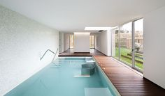 Gorgeous Swimming Pool. Mario Rocha House by Carlos Nuno Lacerda in Valongo, Portugal.