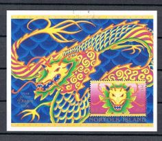 Year of the Dragon Stamp S/S Released by Norfolk Island in the Year 2000 to Celebrate Chinese New Year by Norfolk Island. $9.99. Year of the Dragon Stamp S/S Released by Norfolk Island in the Year 2000 to Celebrate Chinese New Year