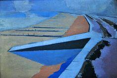 The Shore, 1923, Paul Nash