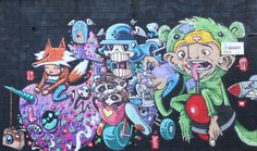 Hulla Ballooo, Lost Souls #streetart #leybourneroad #camden #graffiti