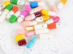 These happy message-in-a-bottle pills (50 pieces for $3). | 27 Outrageously Cute Gifts That Everyone Will Want